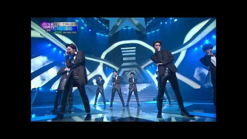 【TVPP】EXO - Thunder, 엑소 - 천둥 @ 2014 KMF Live