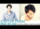 [english subs] How to PART PERM STYLING (Blow dry only) - 드라이만으로 가르마펌 연출하기. [korean hairstyle,셀프헤어]