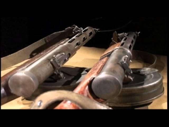 Пистолет-пулемет ППД. Телепрограмма. Оружие ТВ