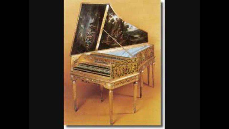 Rameau Suite en A 1728 Gavotte avec 6 doubles Christie harpsichord