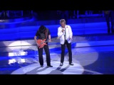 Rod Stewart &amp Santana Perform Live In Las Vegas