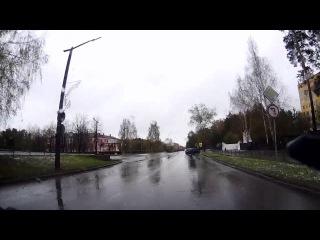 Езда по тротуару - Снежинск 10 мая 2015