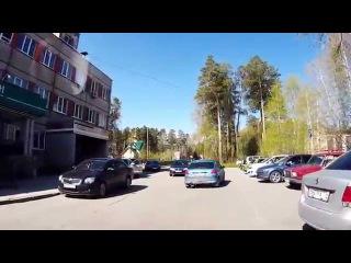 Не смотрим в зеркала и отъезжаем - Снежинск 12 мая 2015