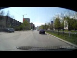 ДТП Снежинск 13 мая 2015 (Момент столкновения)