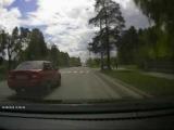 Рискованный обгон перед ПП - Снежинск 20 мая 2015