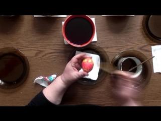 Как Украсить и Расписать Пасхальные Яйца с Помощью Воска?