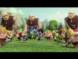 Мультфильм про игру Clash of Clans
