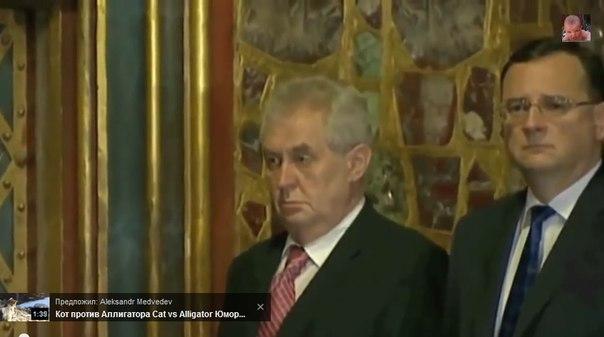 Президенту Чехии прислали письмо с угрозами и белым порошком - Цензор.НЕТ 3766