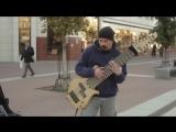Необычная 12-струнная гитара питерского уличного музыканта