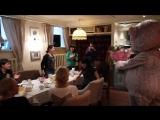 Сюрприз для руководителя в день рождения в кафе везет мишка неожиданно в санкт-петербурге сюрприз для девушки подруги доченьки н