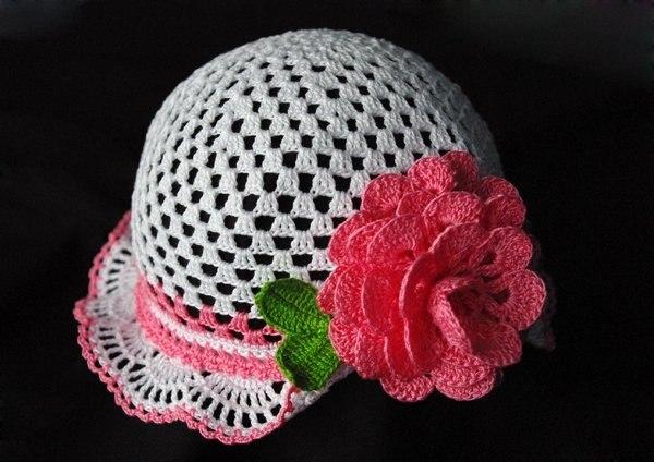 Летняя шапочка (3 фото) - картинка