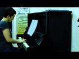 Оскар Питерсон упражнение для фортепиано - запись с урока в студии Глория