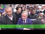 Голову Чернігівської обласної ради Миколу Звєрєва намагалися кинути у сміттєвий бак