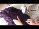 Как сшить мини-юбку из шифона. Часть 4.