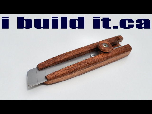 How To Make A Wooden Utility Knife