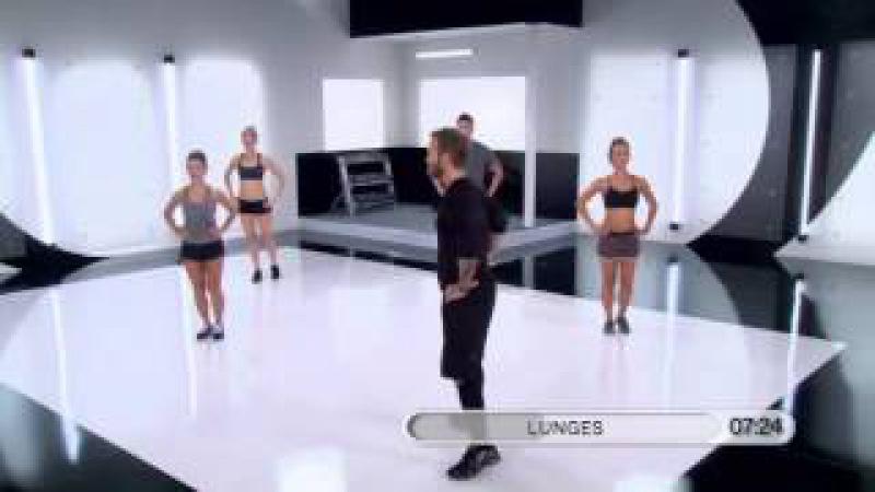 Bob Harper - Legs workout (12 minutes)