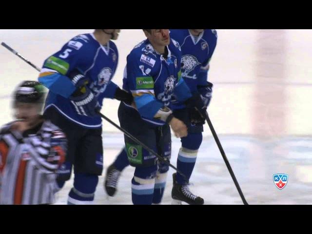 Бой КХЛ Грэттон VS Свитов KHL Fight Svitov beats Gratton