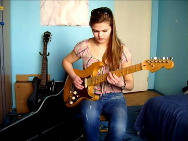 Pink Floyd - Comfortably Numb solo cover (Sylwia Urban)