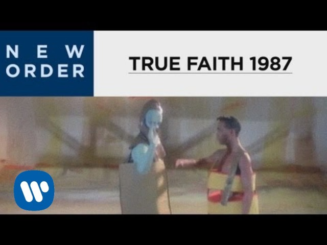 New Order True Faith 1987