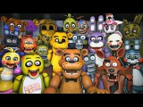 Five Nights at Freddys 4 Final Teaser * Animatronics Reaction | DEEP 9 Secret | FNAF SFM