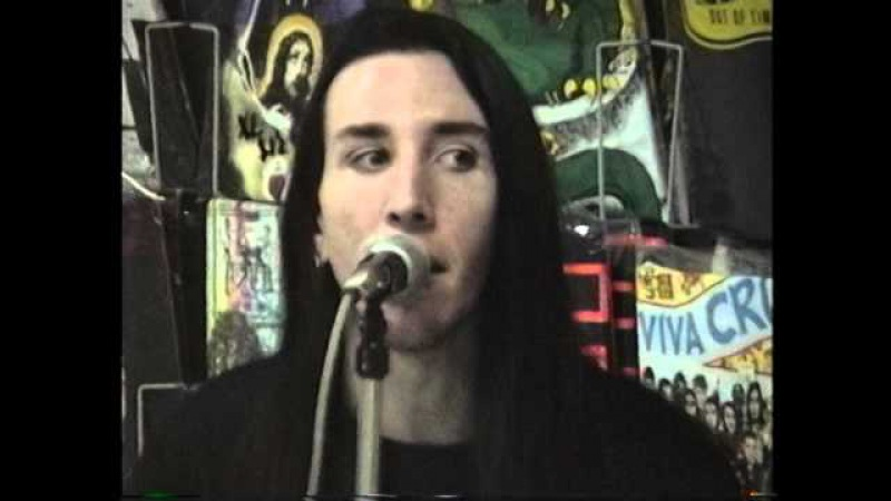 MARILYN MANSON - My Monkey - Live at YESTERDAY TODAY RECORDS - Miami - 1991