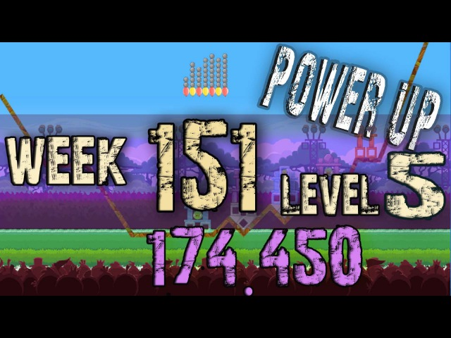 Angry Birds Friends Tournament Week 151 Level 5 | power up HighScore ( 174.450 k )