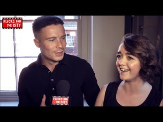 Game of Thrones Red Wedding Reaction Maisie Williams & Joe Dempsie Interview - blinkbox S3 launch