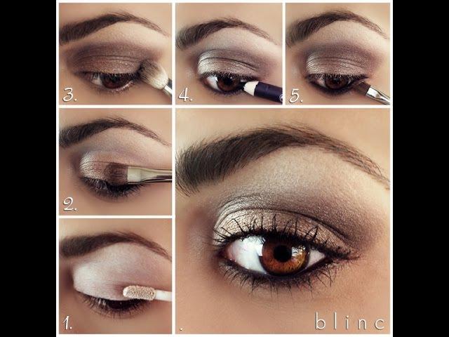 Как сделать дымчатый макияж Smoky Eyes - новые тренды