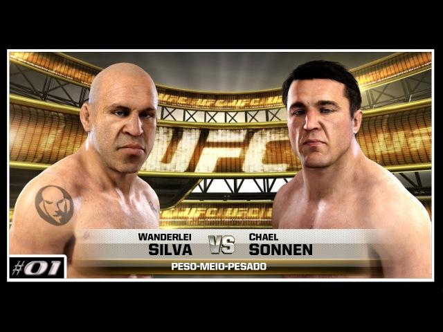 EA UFC Online Wanderlei Silva [Seiji] VS Chael Sonnen [Sinx] Fight dos dopados PS4 PT-BR