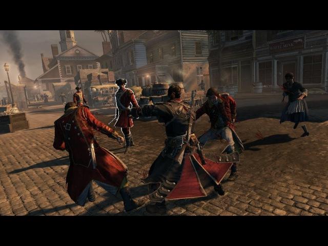 Assassin's Creed Rogue - Двойные Убийства