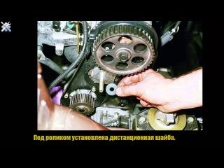 Замена ремня ГРМ на двигателях ВАЗ 2110,2111 8 КЛАПАНОВ