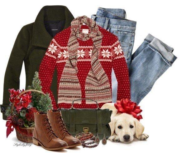 Ձմեռային գեղեցիկ հագուստ, որն ...