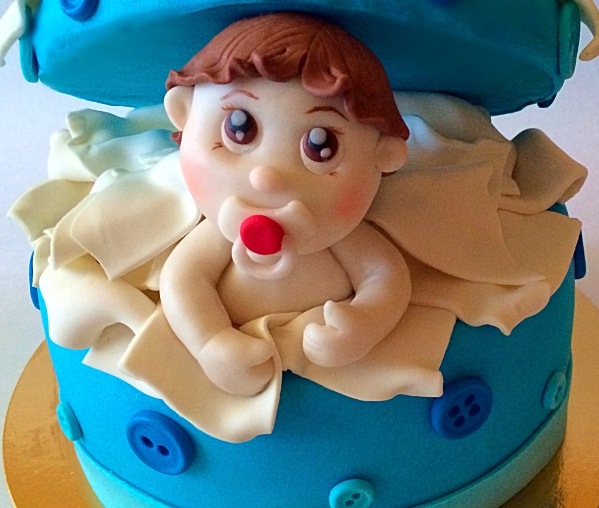 Торты в форме ребенка фото