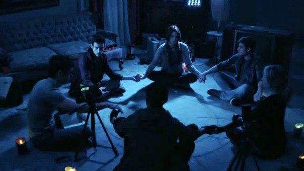 «Дом страха» должен был стать первым продюсерским проектом Джеймса Вана после окончания цикла «Пила» – Ван заинтересовался этим сценарием еще в 2011 году, но производство затянулось на несколько лет