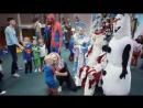 Новый год супергерои Веселяндия