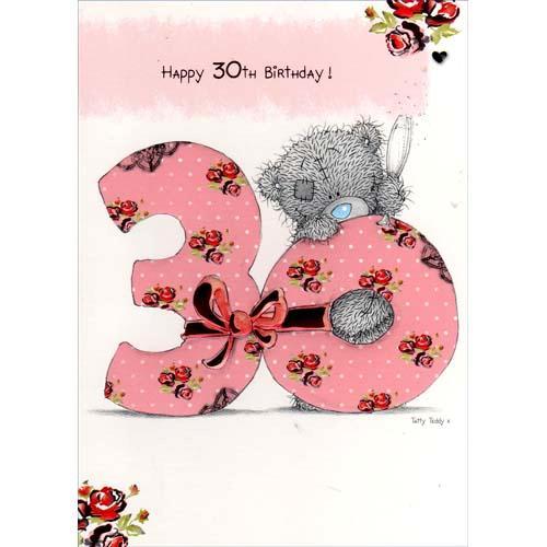 открытки с 30 летием девушке фото