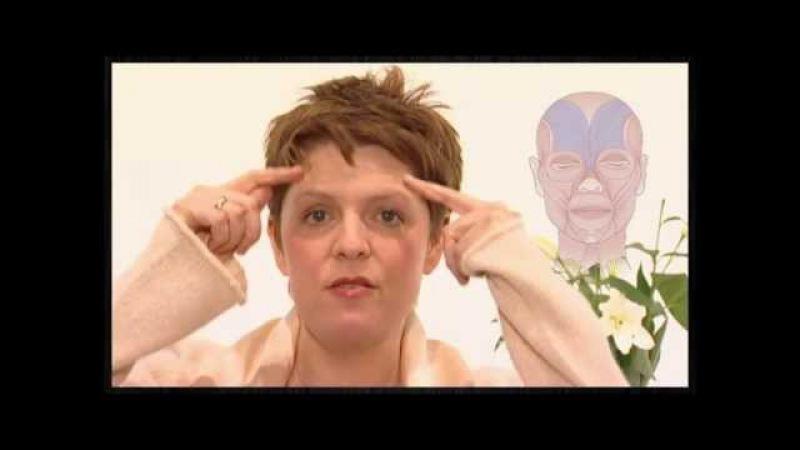 Гимнастика для лица от морщин.Эмма Ханди гимнастика для лица