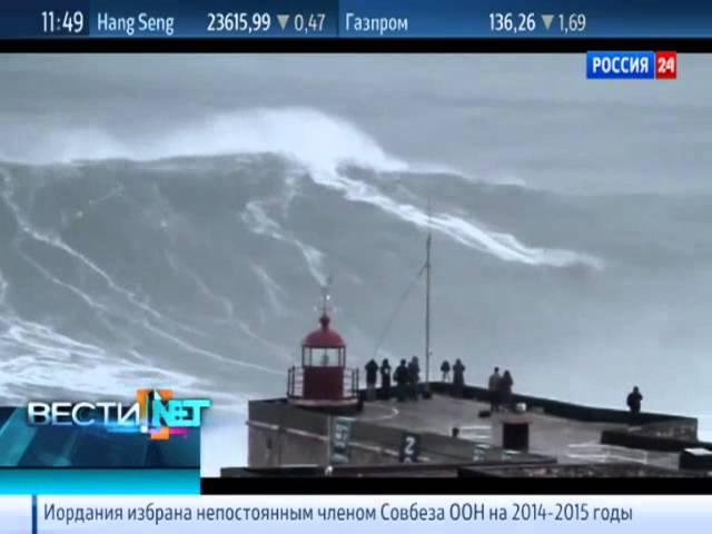 Вести.net. Фишка недели. Самая большая в мире волна