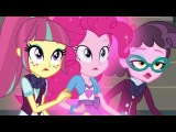 Daydream Shimmer defeats Midnight Sparkle MLP Equestria Girls Friendship Games! HD
