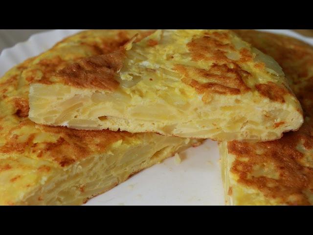 Ну, оОчень вкусный - Омлет с Картофелем Tortilla de Patata.