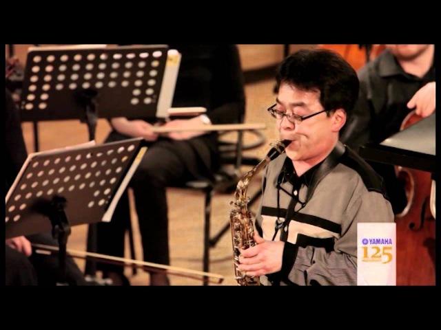 Нобуя Сугава - Дивертисмент для маримбы и саксофона
