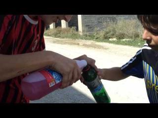 ЭКСТРЕМАЛЬНО СМЕШНО как в взорвать крот (моющее средство)