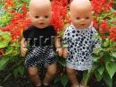 Rак сшить одежду для кукол Baby Born