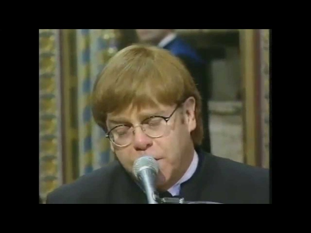 Elton John - Candle in the WindGoodbye Englands Rose (Live at Princess Dianas Funeral - 1997)