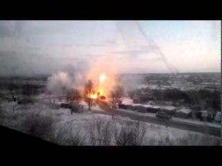 Ополчение карает карателей из Града Донецк 21 01 2015