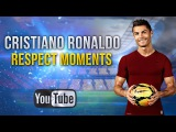 Cristiano Ronaldo ● A Great Man ● Respect Moments
