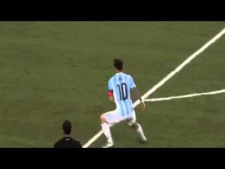 Лео Месси разорвал газон в Далласе во время матча Аргентина vs Мексика