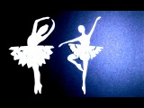 Снежинка-Балеринка своими руками / Поделки оригами из бумаги
