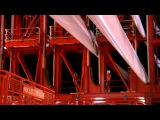 Seajacks work at Meerwind Offshore Wind Park