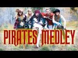 Disney's Pirates of the Caribbean Medley - Peter Hollens &amp Gardiner Sisters (Devinsupertramp)